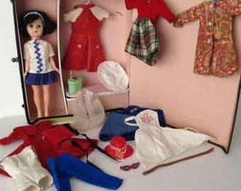 Vintage Uneeda 10 Inch Fashion Teen Doll