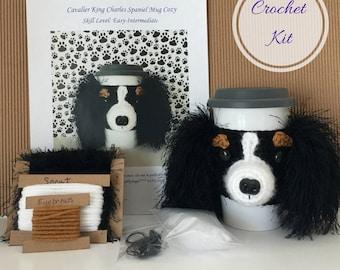 Crochet Gifts, Crochet Kit, Amigurumi Kit, Crochet Pattern Dog, Gift for Crocheter, Crochet Dog Pattern, Dog Crochet Pattern, Crocheter Gift