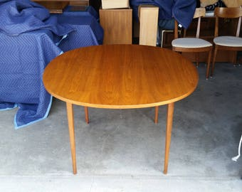 Vintage 1960u0027s Kipp Stewart Drexel Declaration Walnut Dining Table Mid  Century Modern 2 Large (22 Part 66