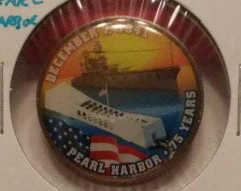 Pearl Harbor Enameled Kennedy Half Dollar