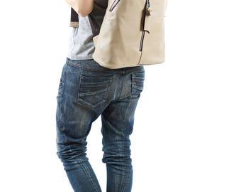 Backpack Purse, Backpack Women, Leather Backpacks, Summer Backpack, Large Backpack, Waterproof Backpack, Shoulder Backpack, Beige Backpack