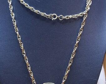 Perfume Bottle Necklace Long