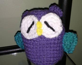 Crocheted Owl Amigurumi