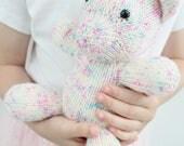Unicorn Knitting Pattern - Childrens Knitted Toy, PDF Pattern, Girls Pony Plushie/ Softie, Sprinkles the Unicorn, MLP, Unicorn,