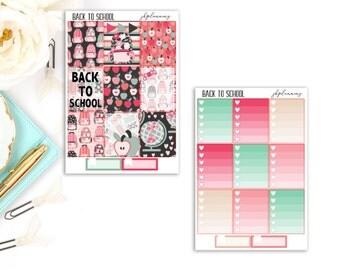 Back To School | Fall Planner Sticker Deluxe Kit