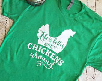Chicken Shirt, chicken T-Shirt