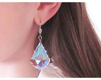 Statement Earrings, Crystal Earrings, Swarovski Crystal, Swarovski Earring, Gift for Her, Rachel Flam Design