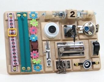 busy board etsy. Black Bedroom Furniture Sets. Home Design Ideas