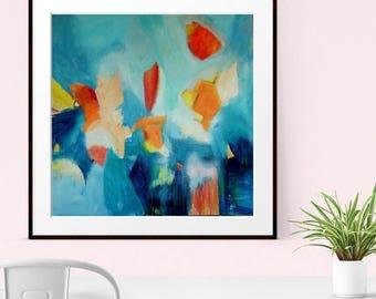 Abstract Art Print , Abstract Giclee Print , Modern Art, Abstract Painting, Minimalist Art , Home Decor, Wall Art, Wall Print