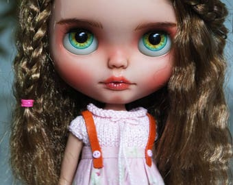 "OOAK Custom Blythe Doll ""MIKA"" made by Cihui"