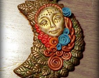 Pendant goddess Nature