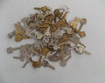 Used Keys for Crafting - Lot of 10
