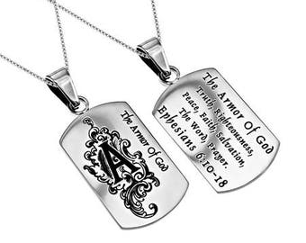 "Absolute Necklace ""Armor Of God"""