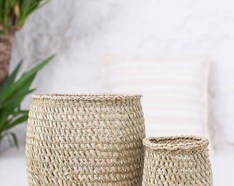 TUPU: Natural Open Weave Storage Baskets