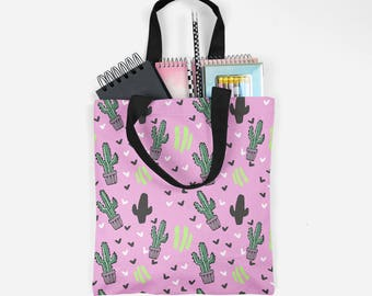 Cactus Tote bag , Tote bag , Shopping Bag , Beach Bag , cactus bag , Market Tote , Tropical tote bag , cactus tote , watercolor , nature
