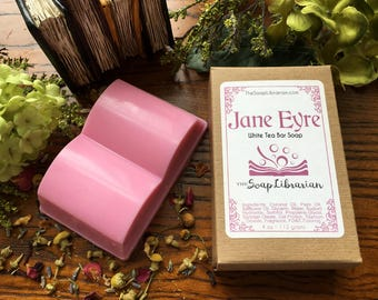 Jane Eyre Bar Soap - Literary Gift, Book Lovers Gift - Natural Handmade Soap