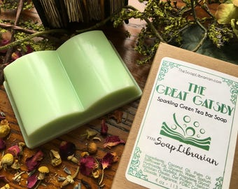 The Great Gatsby Bar Soap - Reader Gift, Bookish Gift - Handmade Soap