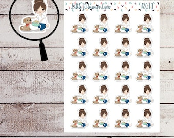 Dog Food Character Planner Sticker for all Planners