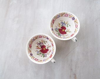 Vintage Tea Cups, Wedgwood, Teacups, Tea Cups, Wedgwood China, Wedgewood, Wedgewood China, Tea Cups Vintage, Vintage Kitchen,Made in England