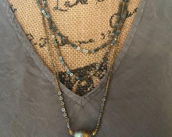 Basha Bead Arrow Head Series with Petit Hematite beads by SeeJanesBeads