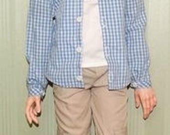 ON Sale 20%  Set Cargo pants +Shirt for SID man Iplehouse