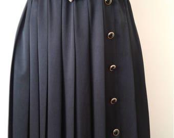 Pleated Skirt, Skirt Suit, Vintage Skirt, Bolero Coat, Jacket Suit, Vintage skirt suit from 1990's