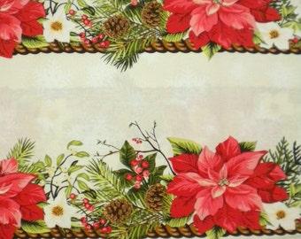 1 YD - In The Beginning/Winter Twist Fabric by Maywood Studio