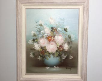 Floral Oil Painting || Artist Rossy || Floral Painting