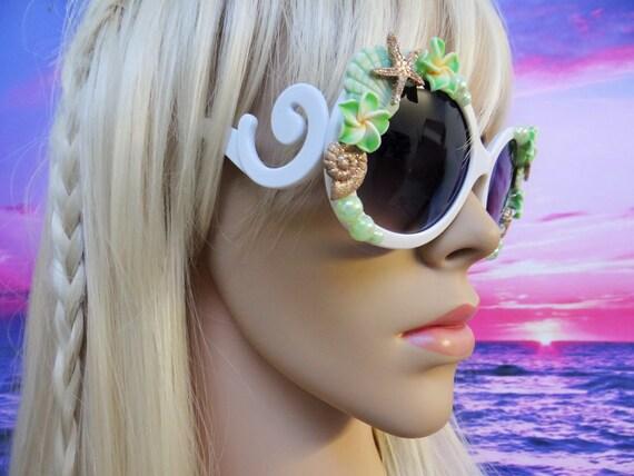 Swirl I'm Really A MERMAID Sunglasses Sun Glasses Sunnies Wayfarers Aviators Im Ariel Disney Beach Sea Ocean Nautical Pinup The Little A040