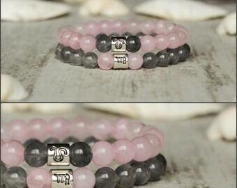 zodiac bracelet couple bracelets his and her bracelet gift for couples jewelry for couples gift bracelet set personalized couples gift set