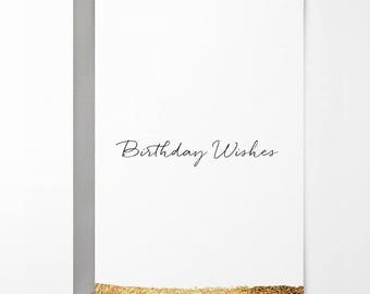 Birthday Wishes Birthday Card