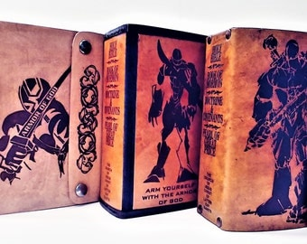 Leather scripture cover