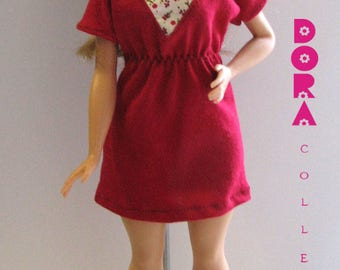 Handmade barbie dress.