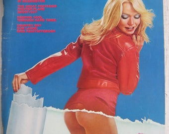 Playboy March 1975 really great condition, except for crease across back cover FREE SHIPPING