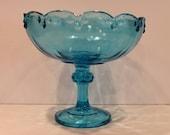 Indiana Glass Blue Carniv...