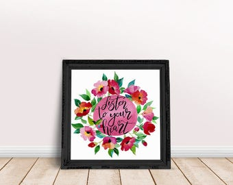 Heart Quote | Love Quotes, Love Calligraphy Art, Love Saying Art, Love Typography Wall, Love Typography Script, Heart Saying, Great Heart