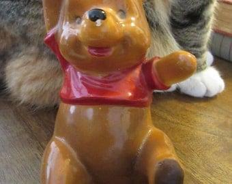RARE Vintage Winnie the Pooh Figurine. 1964, Enesco