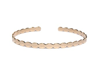 Lou bangle bracelet - Beautiful bangle bracelet with tiny details