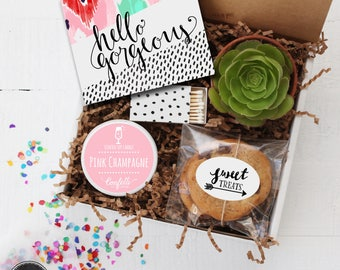 Hello Gorgeous Gift Box - Bridal Shower Gift | Thank You Gift | Friend Gift | Get Well Gift | Best Friend Gift |Gift For Her