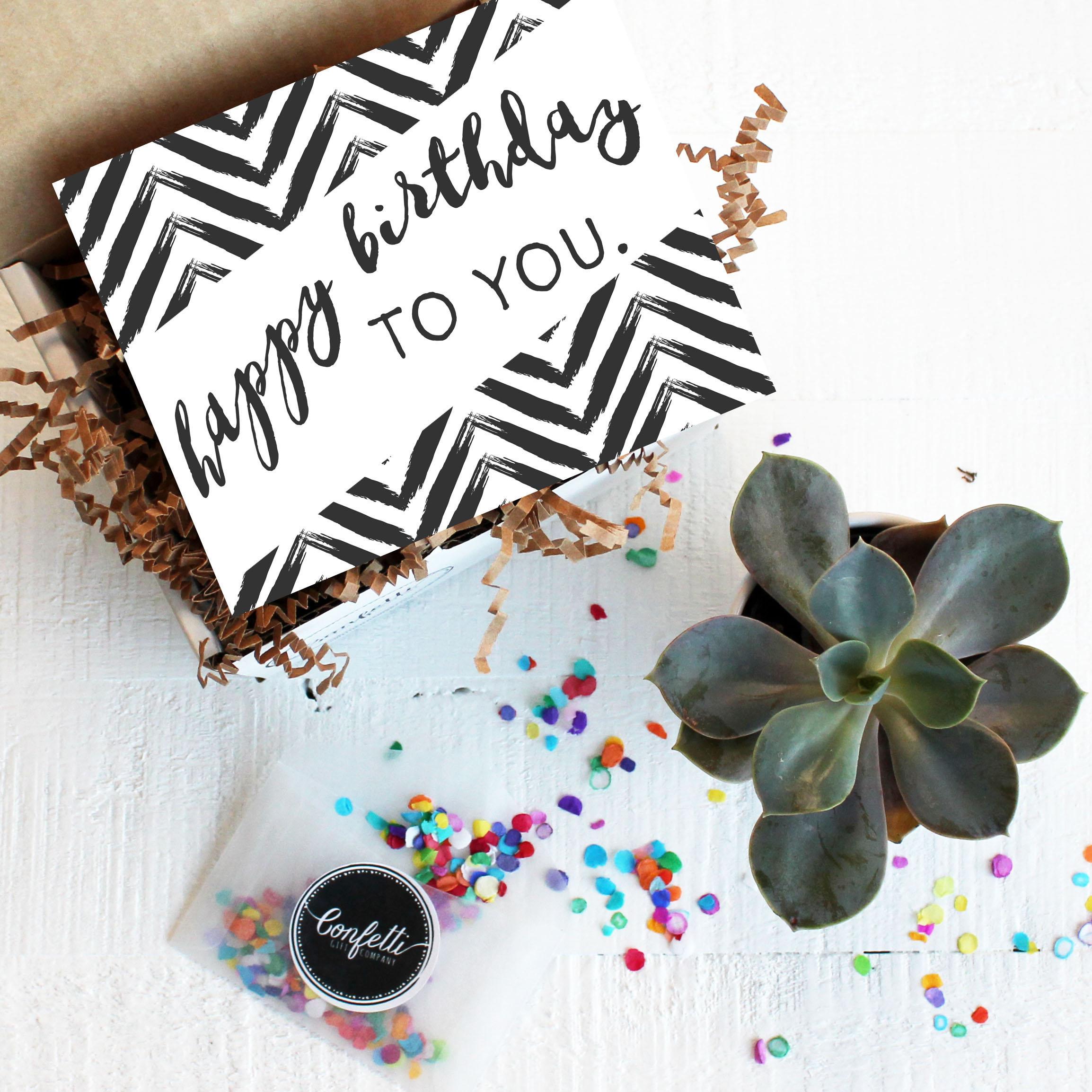 Mini Happy Birthday To You Gift Box Send A Birthday Gift