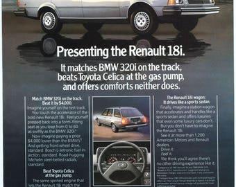 1981 Renault 18i Ad (80-SM-09)