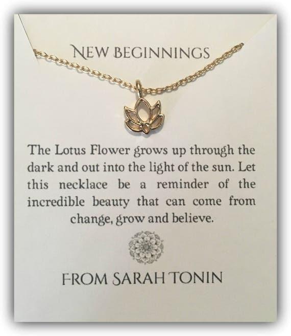 New beginnings lotus pendant necklace like this item mightylinksfo