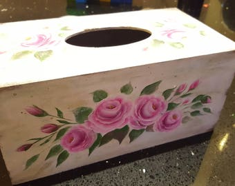 Decorative Tissue Box Cover Case
