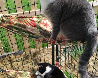 Outdoor Cat Hammock for Catios