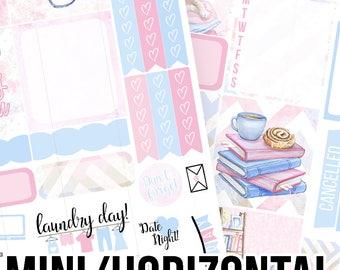 Bookworm Mini/Horizontal Kit - Planner Stickers