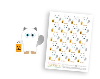 Trick or Treat Baymax - Planner Stickers
