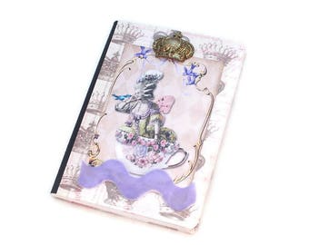 Small Journal, Pocket Notebook, Mini notebook, Marie Antoinette, French Inspired, Password Notebook, Dream Journal, Small Notebook, French