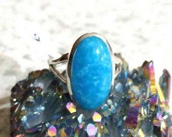Smithsonite Ring Size 6