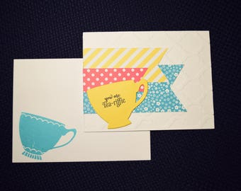 Friendship Greeting Card - You are Tea-riffic