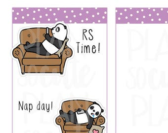 Nap Day Stickers, RS time Planner Stickers -100